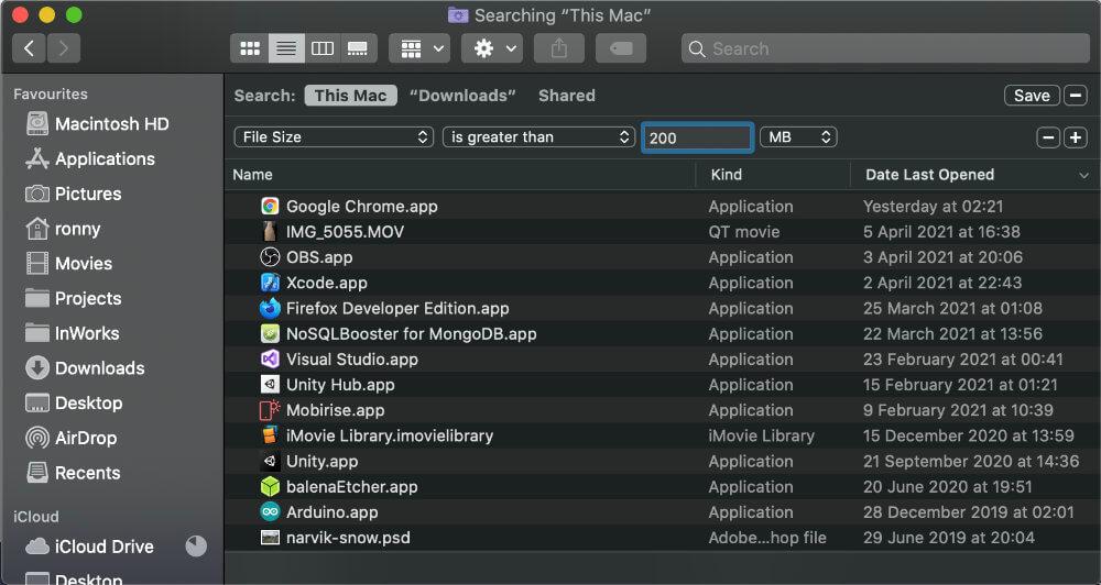 Mac find large files 4